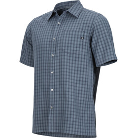 Marmot Eldridge SS Shirt Men Steel Onyx